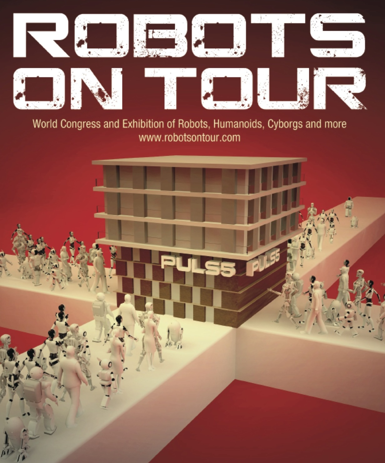 robots on tour