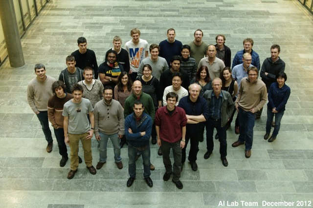 AI Lab Team, December 2012