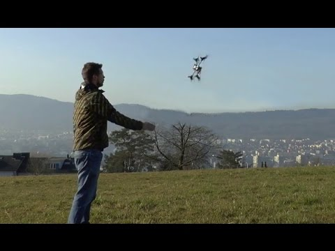 How to Launch a Quadrotor