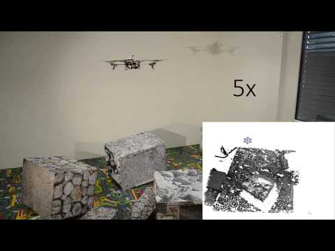 Quadrotor Demos - Live dense 3D recontruction and collaborative grasping