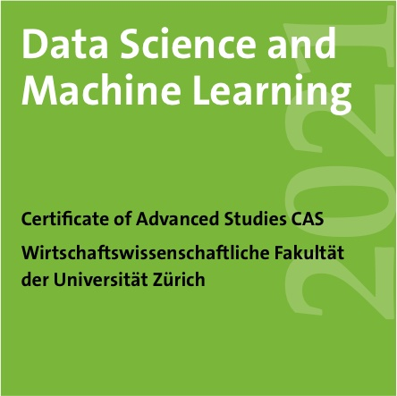 "CAS in ""Data Science and Machine Learning"""