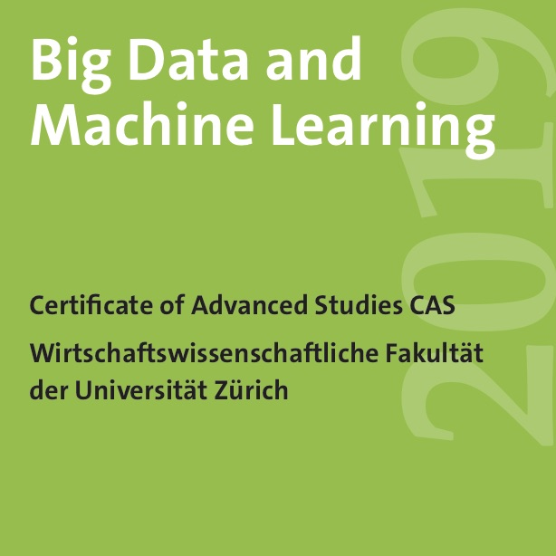 CAS 2019 Big Data and Machine Learning