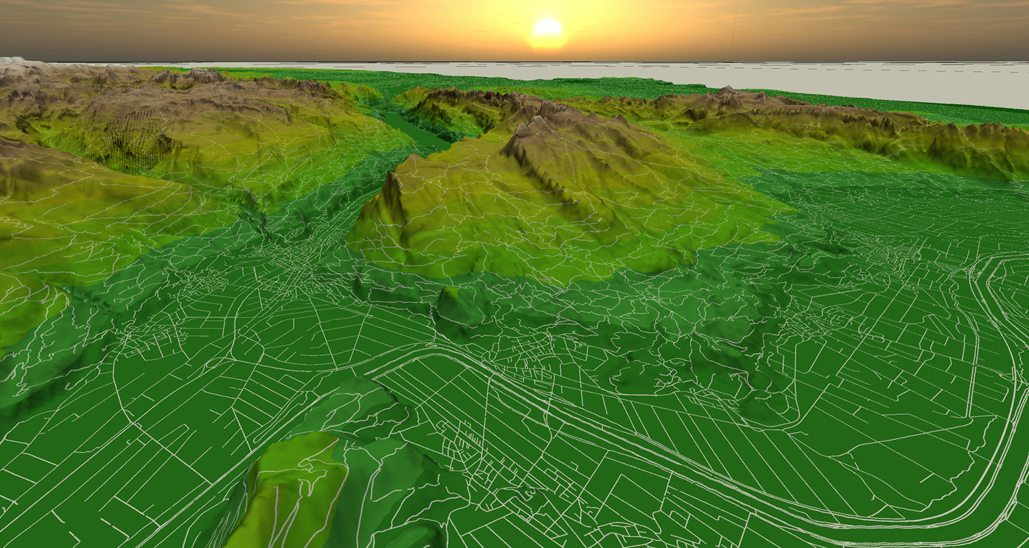 Deferred Vector Map Visualization